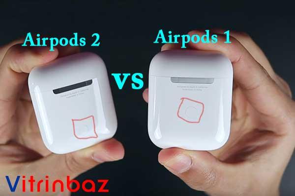 تفاوت ایرپاد 2 اپل با ایرپاد 1 اپل و محل قرارگیری دکمه ریست ایرپادها روی کیس شارژ