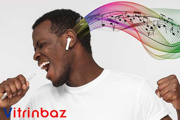 موزیک گوش کردن با دستیار صوتی Siri ایرپاد 2 اپل