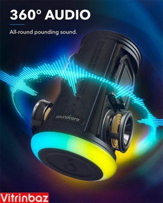 اسپیکر بلوتوثی ضد آب انکر مدل soundcore flare mini
